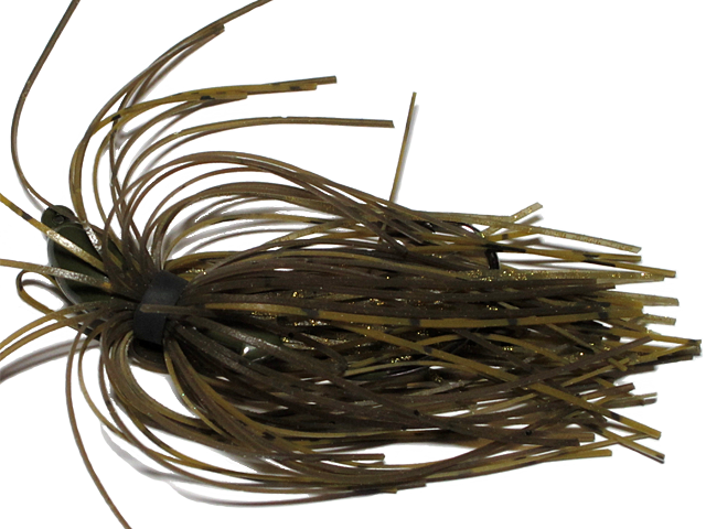 Old Jiggers Copperhead Weedless Swim Jig - DC Green