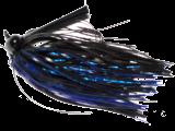 Old Jiggers Copperhead Weedless Football Jig - Black Blue