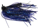 Old Jiggers Copperhead Weedless Football Jig - Blue Dragonfly