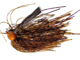 Old Jiggers Copperhead Weedless Football Jig - Peanut Butter Grape