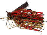 Old Jiggers Copperhead Weedless Football Jig - Peanut Butter Strawberry
