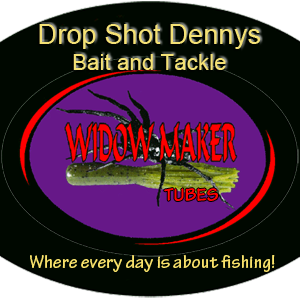 Drop Shot Dennys logo Widow Maker Spider