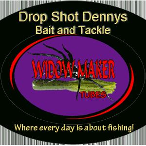 Drop Shot Dennys logo Widow Maker Spider