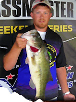 Drop Shot Dennys Pro Staff Nick Kincaid, Tulsa Oklahoma bass tournament angler